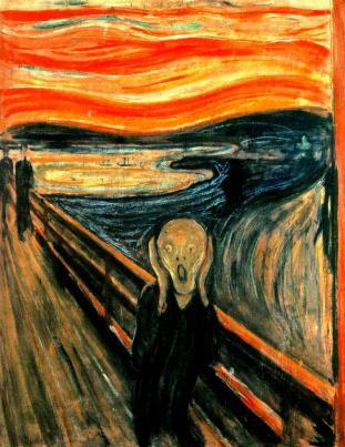 El Grito, de E. Munch