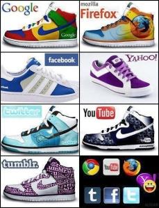 zapatillas diseños de redes sociales