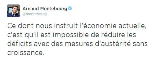 tuit explosivo del Ministro de Economía