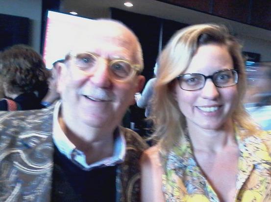 Mi foto con @toni_puig, creador de la marca Barcelona y padre fundador del City Branding
